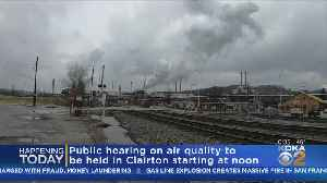 Officials Air Quality Meeting In Clairton [Video]