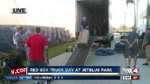 Red Sox 'Truck Day': Team truck arrives in Fort Myers - 8am live report [Video]