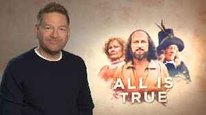 'All Is True': Exclusive Interview With Kenneth Branagh [Video]