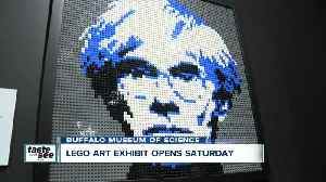 Amazing Lego art exhibit ready to open at the Buffalo Museum of Science [Video]