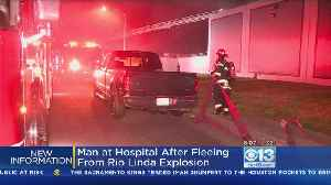 Man Who Fled After Rio Linda Explosion At Business Now In Hospital [Video]