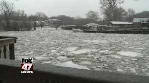 City leaders monitoring Ice Jam [Video]