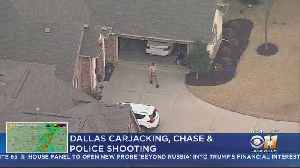 Carjacking, DPD Police Chase Ends With Suspect Shot In Homeowner's Garage [Video]