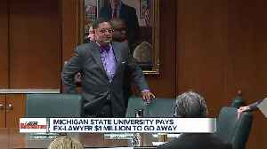 Michigan State pays ex-lawyer Bob Young $1 million to go away [Video]