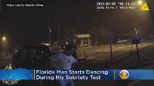 Video: Florida Man Dances Through Field Sobriety Test, Is Arrested For DUI [Video]