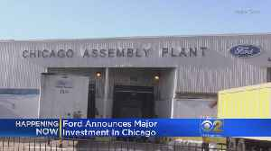 News video: Ford Spending $1 Billion To Expand Chicago Plants