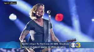 Keith Urban To Perform At NHL Stadium Series Outdoor Game In Philadelphia [Video]