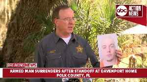 News Conference: Armed man surrenders after standoff at Polk Co. home [Video]
