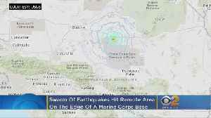 Swarm Of Earthquakes Hit Remote Area On Edge Of Twentynine Palms Marine Corps Base [Video]
