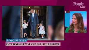 Kate Middleton Shares Prince George and Princess Charlotte's Favorite Foods - and How They Help Cook! [Video]