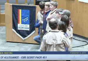 Ten-Year-Old Cub Scout Takes a Knee During City Council Meeting in North Carolina [Video]