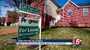 What's causing the rise of Real Estate Prices in Nashville? p1 [Video]