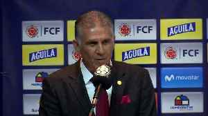 Carlos Queiroz appointed Colombia coach [Video]