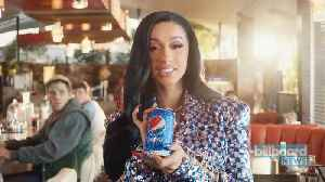 News video: Cardi B and Monet X Change Team Up for Pepsi Commercial | Billboard News
