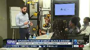 Students get work exposure at Stanley Black & Decker [Video]