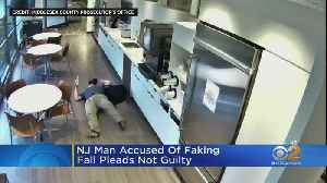 NJ Man Pleads Not Guilty To Faking Fall [Video]