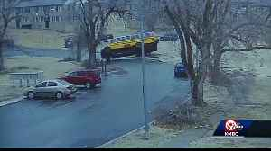 Questions remain after school bus tips over on icy hill [Video]