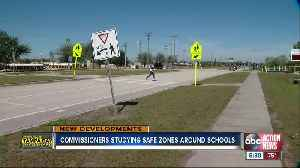 Commissioners are studying safe zones around schools [Video]