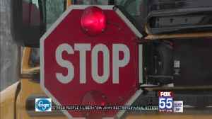Indiana panel backs tougher law on passing stopped buses [Video]