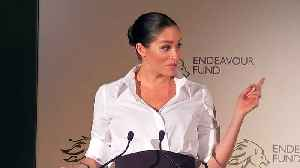 Harry and Meghan praise armed forces at Endeavour awards [Video]