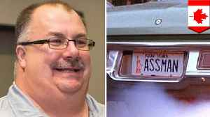 Canadian man surnamed 'Assman' denied personalized license plate [Video]