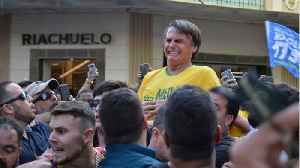 Brazil's New President Hospitalized With Pneumonia Linked To Stab Wound [Video]