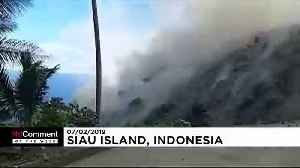 Volcano spews lava in fresh eruption on Indonesia's Siau island [Video]