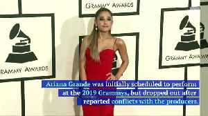 Ariana Grande Fires Back at Grammys Producer [Video]