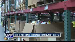 Government shutdown prompts Idaho Foodbank to increase food distribution by 20% [Video]