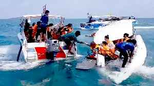 Tourists Rescued After Speedboat Capsizes Off Thai Island [Video]