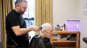 Hair we go again: World's first dementia barber helps clients time travel to 1950's [Video]