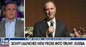 'A Slow-Motion Coup Attempt': Tom Fitton Blasts Schiff, Dems' New Trump Investigations [Video]