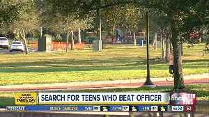 Off-duty Sarasota Police Officer assaulted by group of teens after defending homeless person [Video]