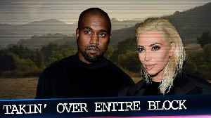 News video: Kanye and Kim Buy Another Home in Los Angeles to Take Over Entire Block