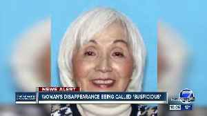 Aurora police call 87-year-old woman's disappearance suspicious, asks for public's help to find her [Video]