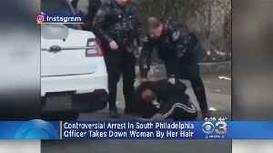Viral Video Shows Officer Taking Down Handcuffed Woman By Her Hair [Video]