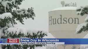 Hudson Calls A School Snow Day [Video]