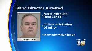 Band Director From Mesquite ISD Arrested In Dallas For Attempting To Meet Boy For Sex [Video]