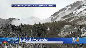Natural Avalanche Captured On Camera [Video]