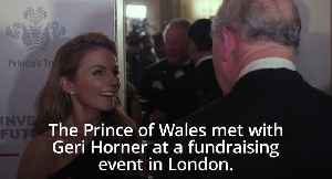 Geri Horner: Prince Of Wales is a 'Spice Boy' [Video]