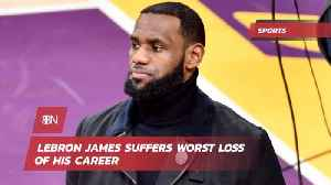 Lebron Is Stunned By Monumental Loss [Video]
