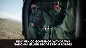 News video: New Mexico Governor Is Not Going Along With Trump Border Plan