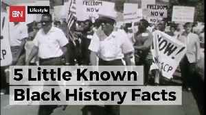 Here Are Some Interesting Facts For Black History Month [Video]