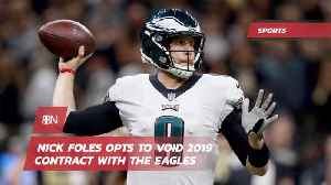 Nick Foles Is Walking Away From The Philadelphia Eagles [Video]