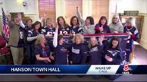 Wake Up Call from Hanson Town Hall [Video]