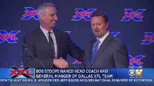 Bob Stoops Introduced As Coach, GM Of Dallas' New XFL Team [Video]