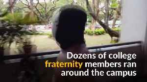 Philippine students bare all for freedom of expression [Video]