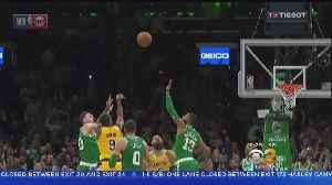 News video: From 18-Point Deficit Rondo's Buzzer Beater Gets Lakers The Win Over Celtics