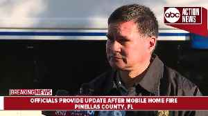 Two women found dead after suspicious mobile home fire in Pinellas County | News Conference [Video]