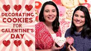 Hey Y'all Galentine's Day / Cookie Decorating [Video]